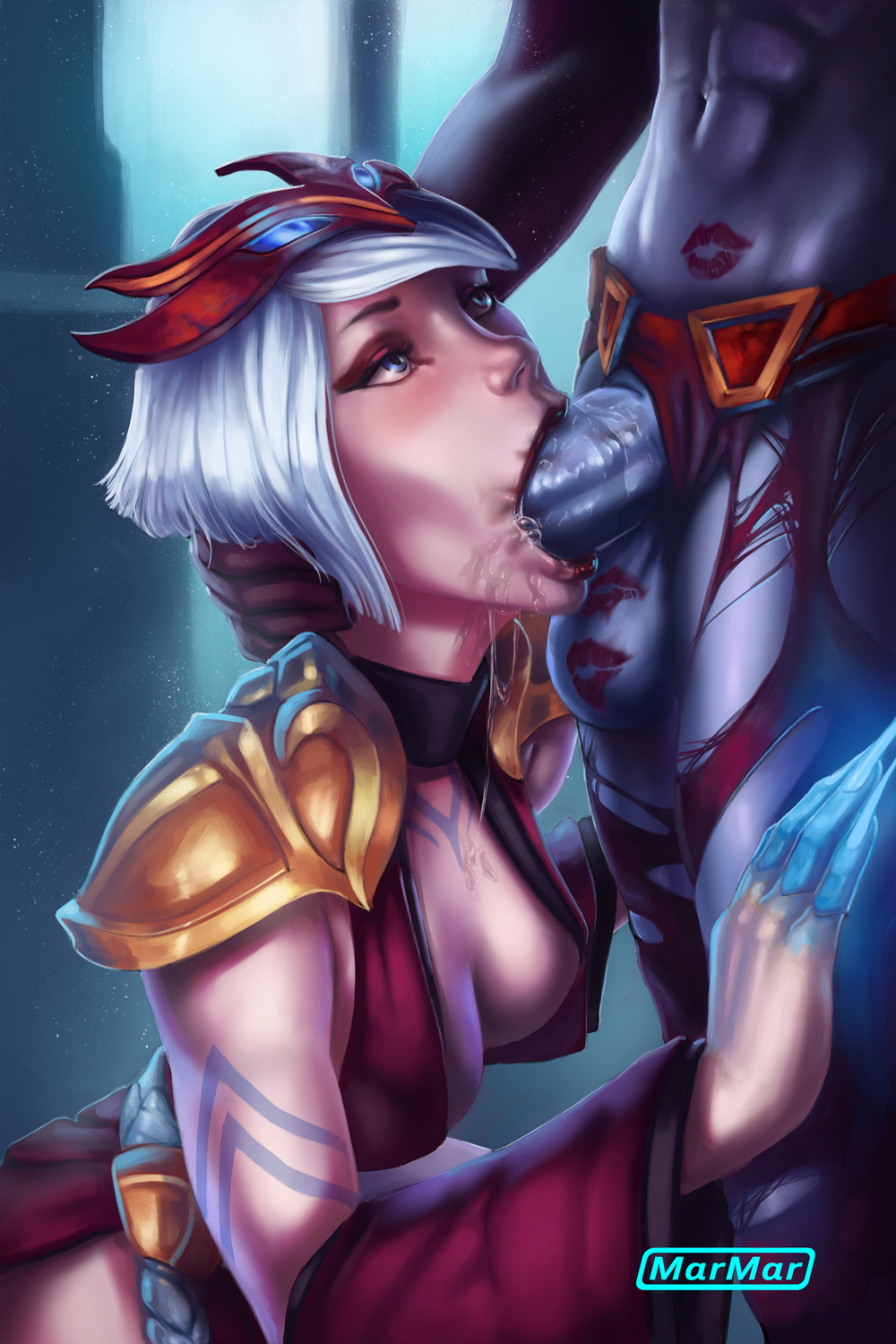 blood akali game in moon Lara croft fucked by a horse