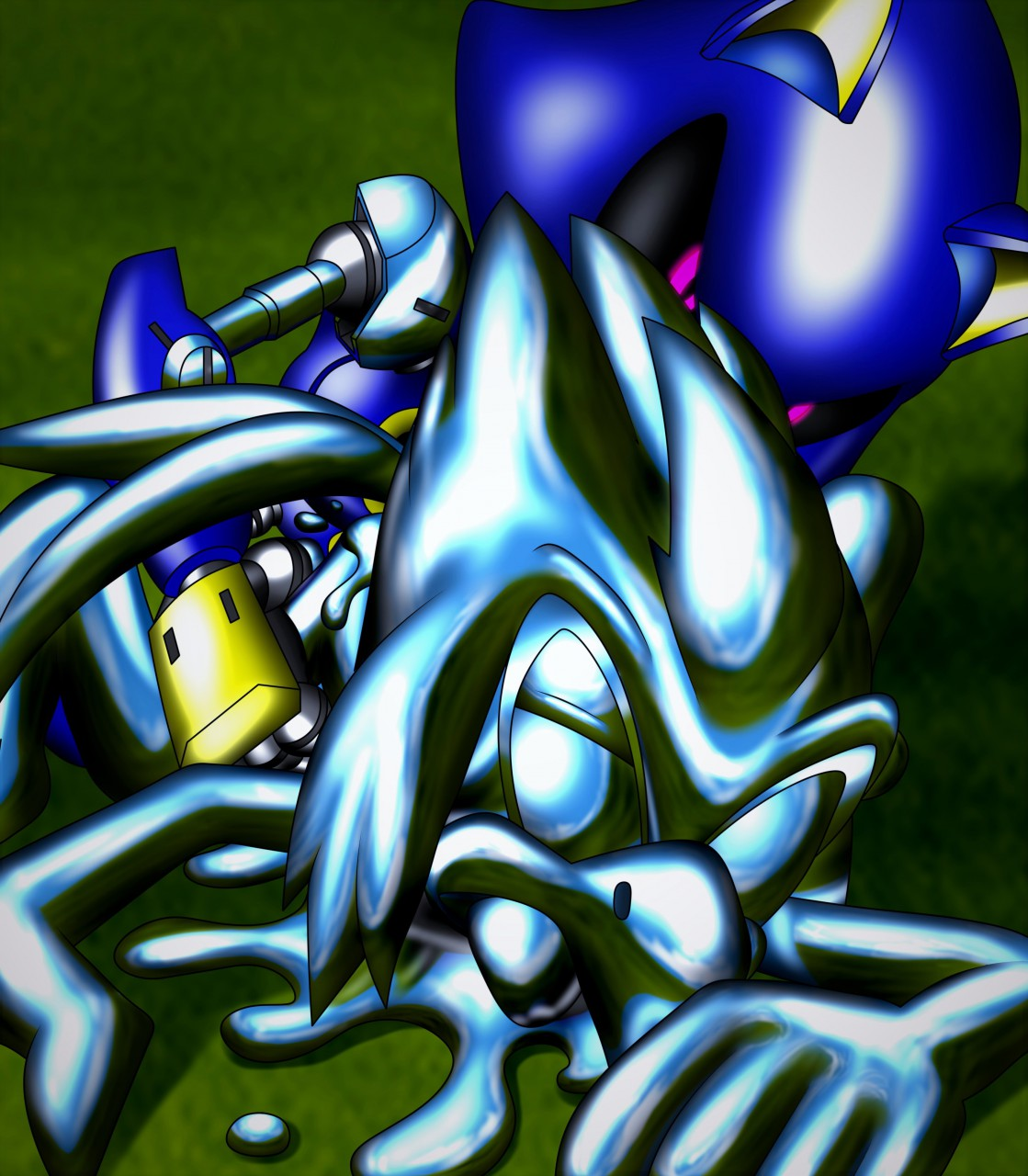 ctrl-z sonic transformed 3 One punch man mosquito girl