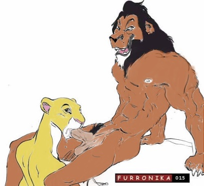 lion the king One piece nami x robin