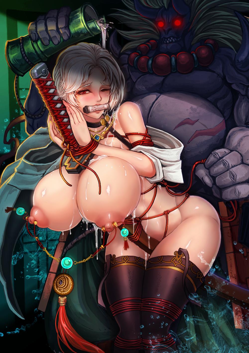 porn queen demon and mage Fight ippatsu juuden-chan