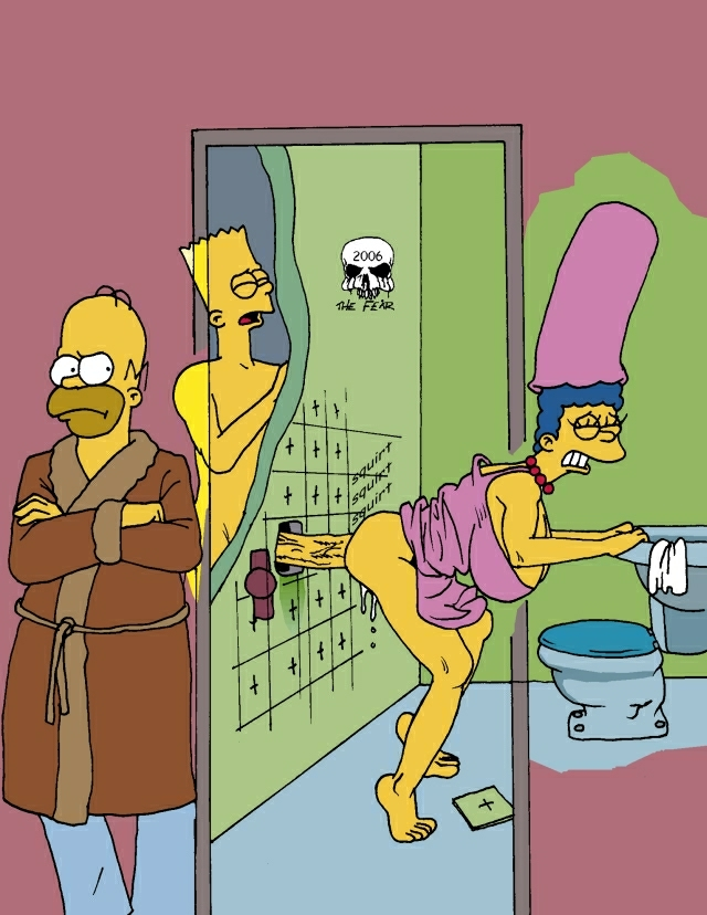 marge naked bart with simpson A cat is fine too e621