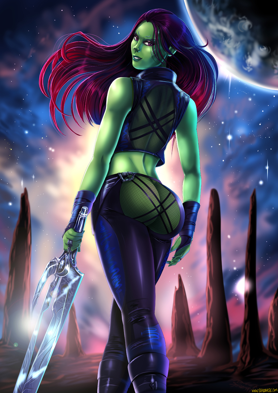 hentai the galaxy guardians of gamora Daily life with a monster girl smith