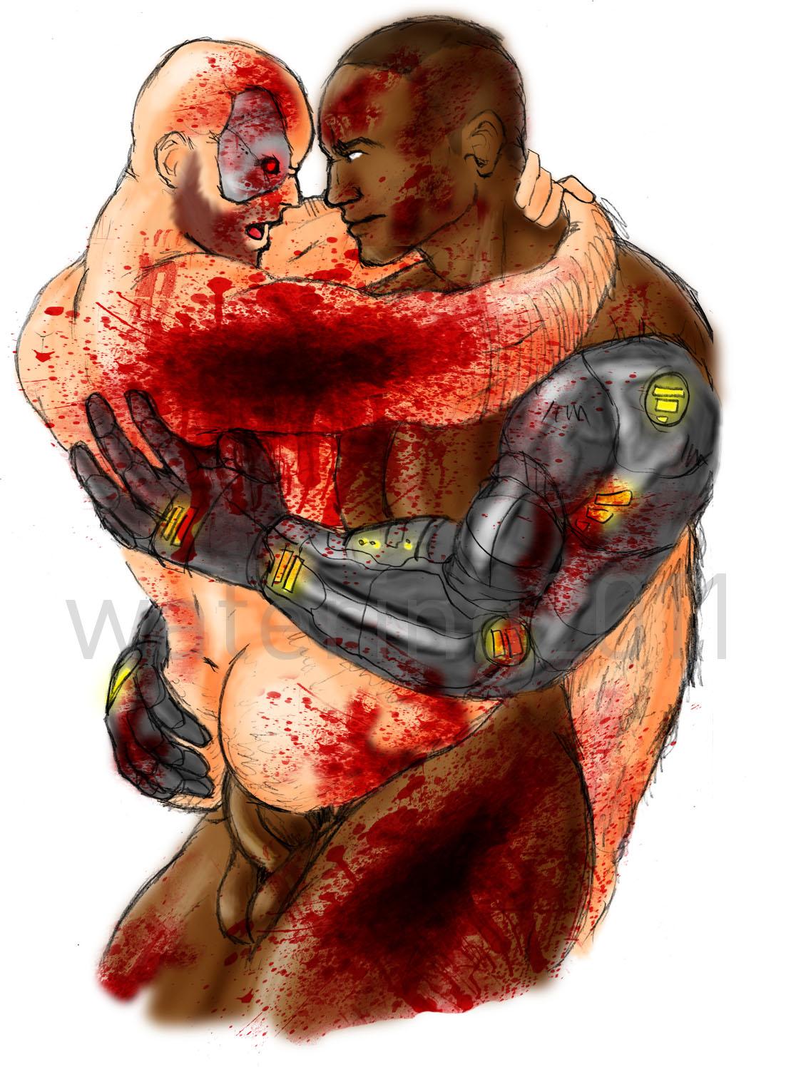 sonya kombat nude mortal blade Kore wa zombie desu ka haruna
