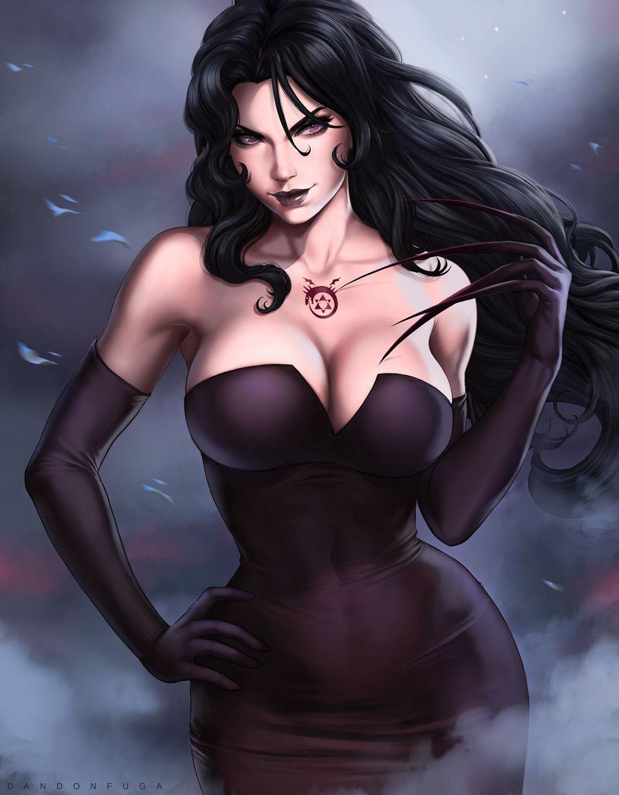 lust (fullmetal alchemist) King of the hill nancy nude