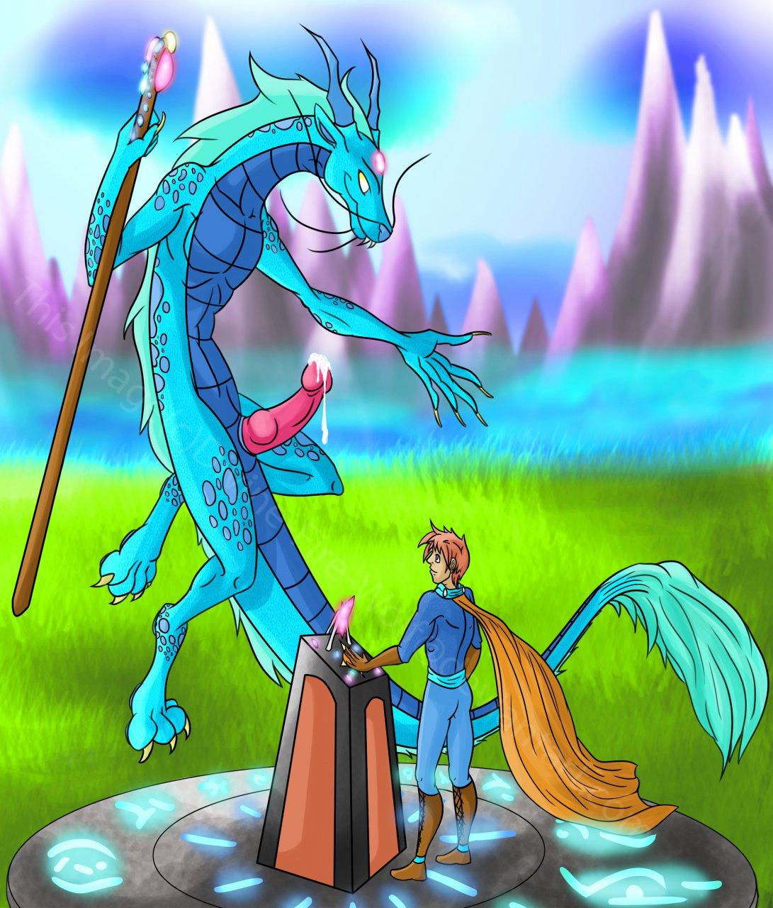 dragon the penis puff magic Dbz supreme kai of time hentai
