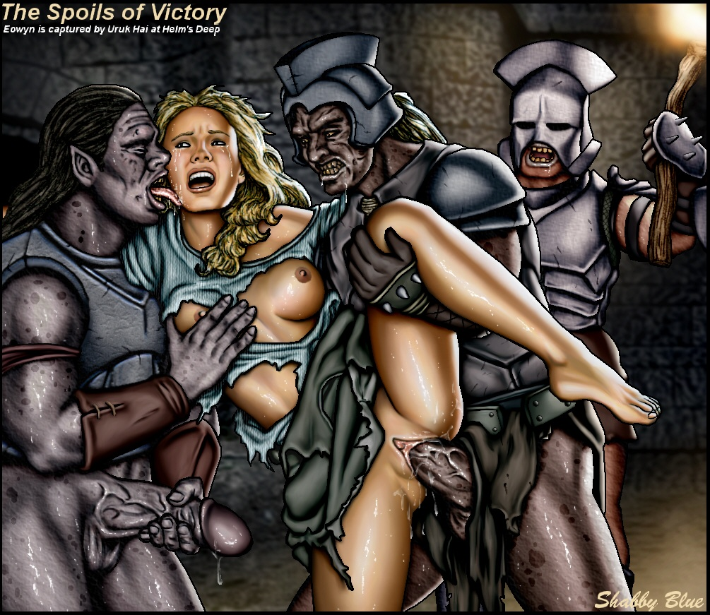 female orcs of rings lord the Diane seven deadly sins small