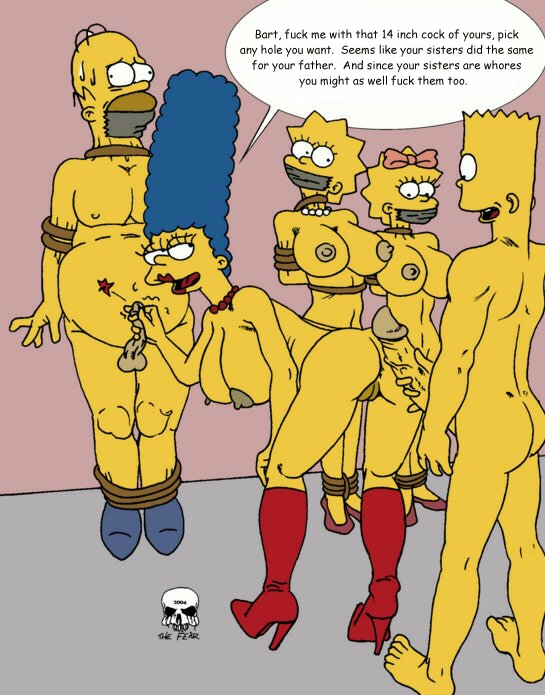 simpson with naked bart marge Tits trials in tainted space