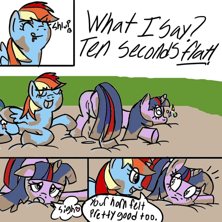 and fanfiction rainbow mlp dash spike Rick and morty porn