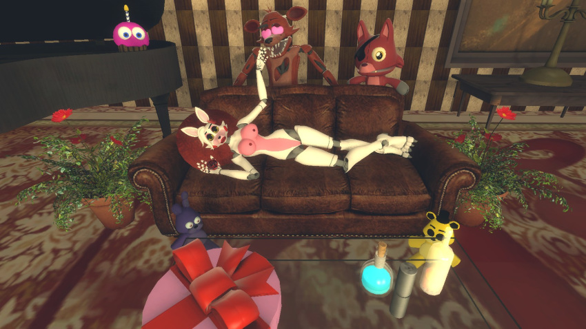 foxy mangle porn and fnaf Sonic and amy in bed