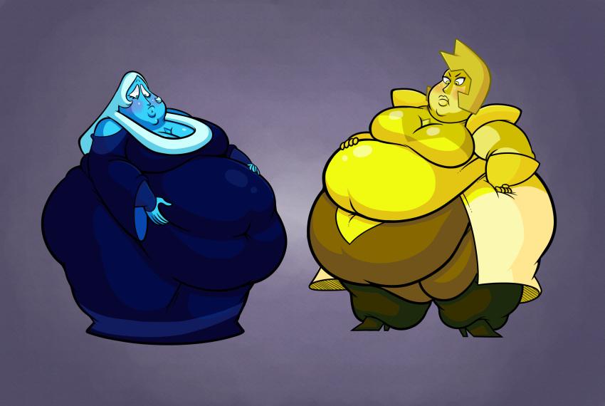 yellow steven universe x diamond diamond blue Padme on geonosis shabby blue