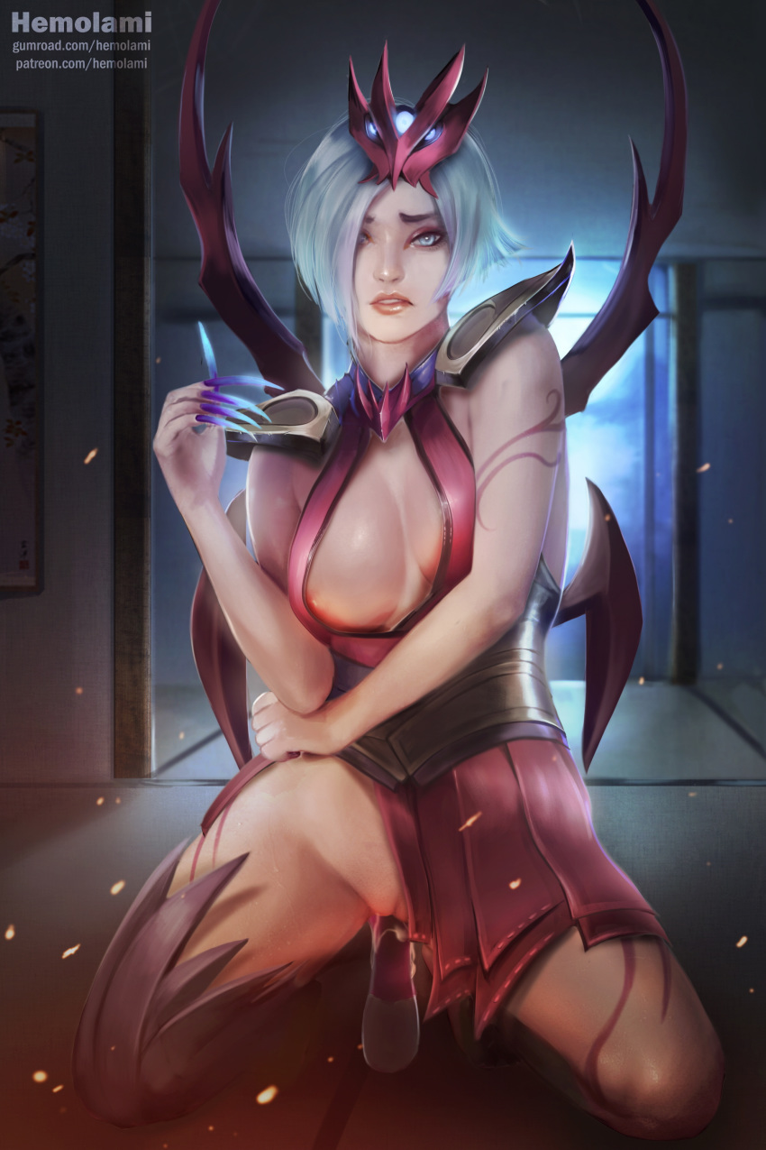 moon akali in game blood Hanidebi! honey & devil