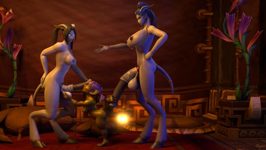 warcraft of goblin world female Crush crush q-piddy