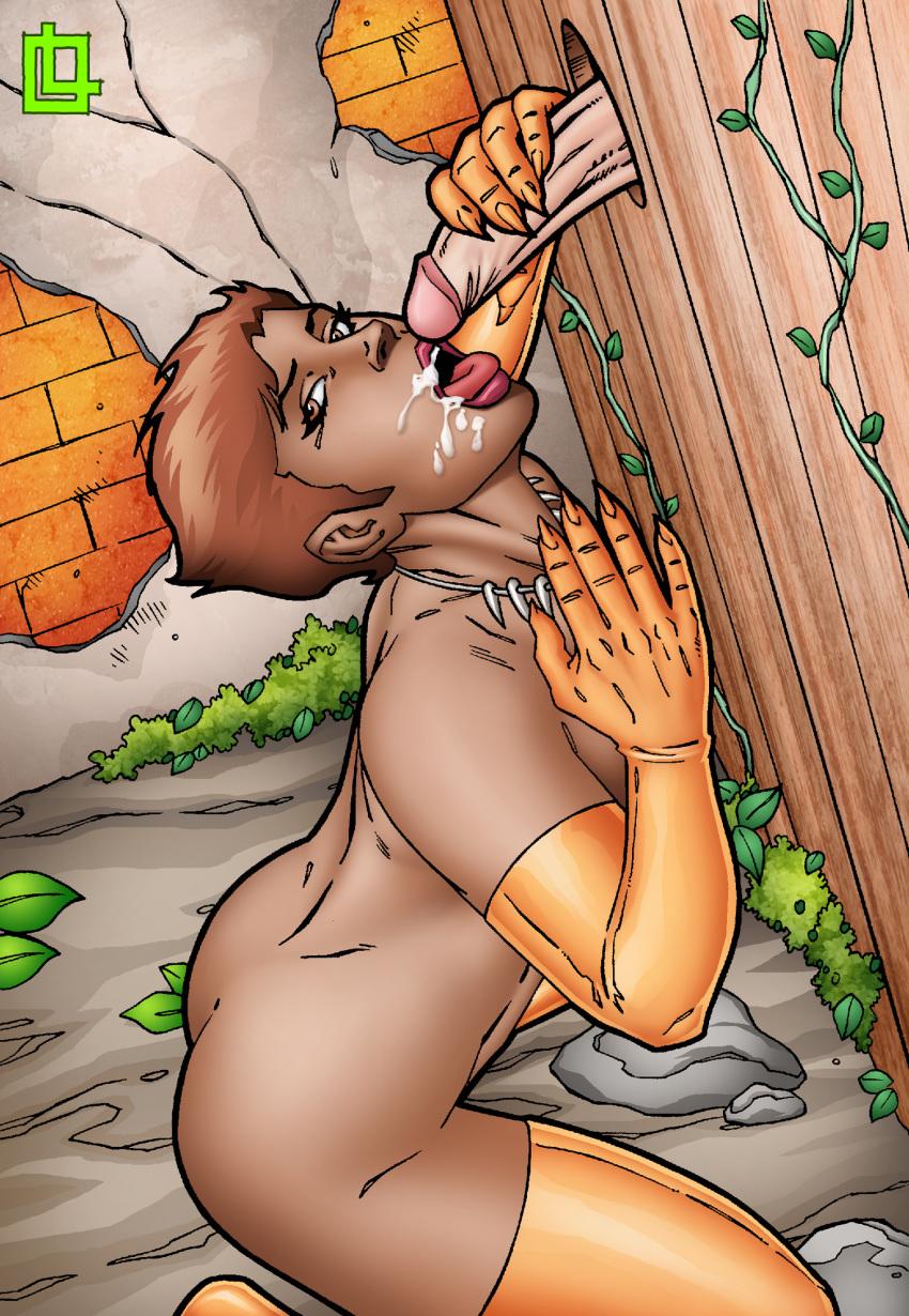comics) gizmo (dc Green m&m naked