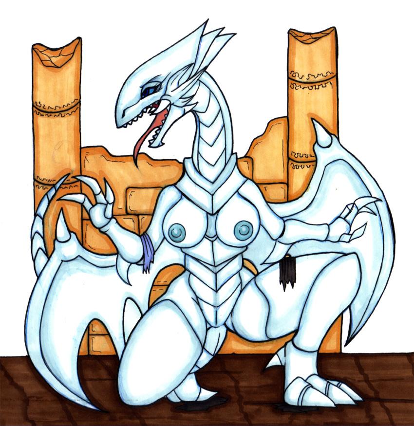 dragon blue toon eyes white Xenoblade chronicles 2 rolling smash