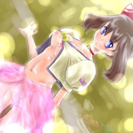 sun acerola and pokemon moon Joshi ochi! 2-kai kara onnanoko ga... futte kita!